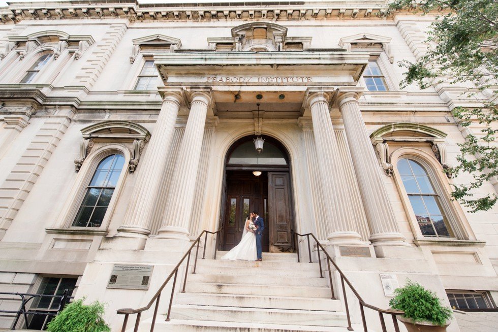 George Peabody Library Wedding in Mount Vernon