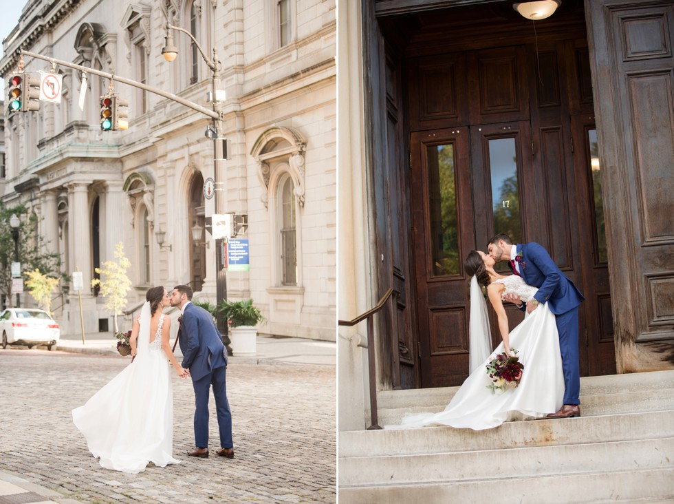 George Peabody Library Johns Hopkins University Wedding photos