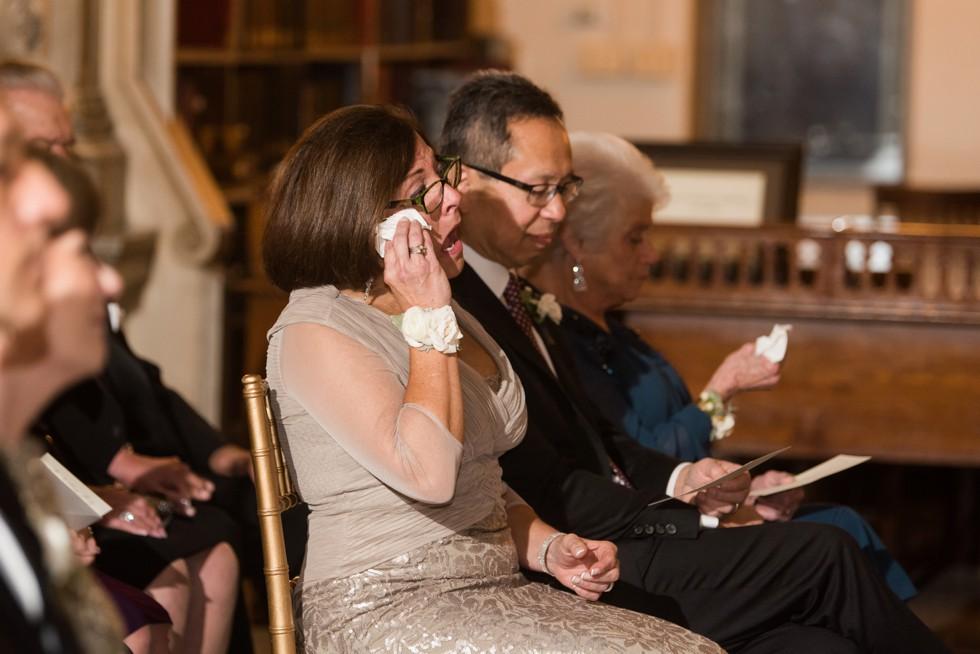 George Peabody Library Wedding ceremony by Johns Hopkins University