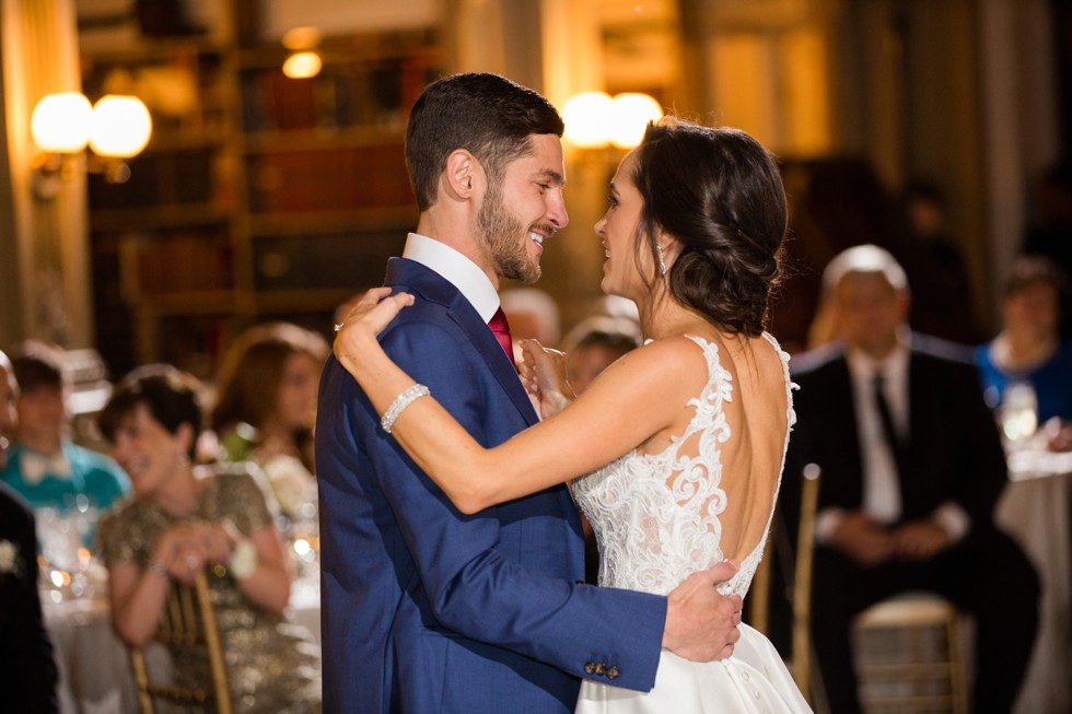 Nouvelle Weddings at George Peabody Library wedding reception