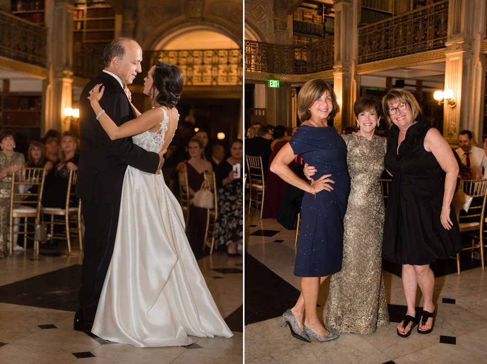 District Remix George Peabody Library father daughter dance