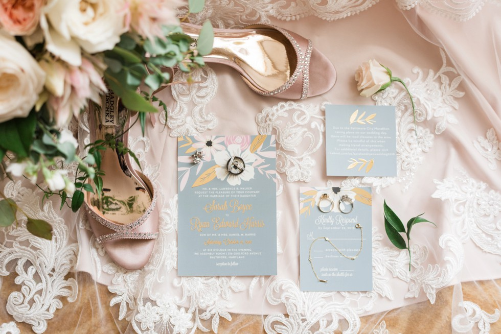 Basic Invite wedding stationary - The Assembly Room