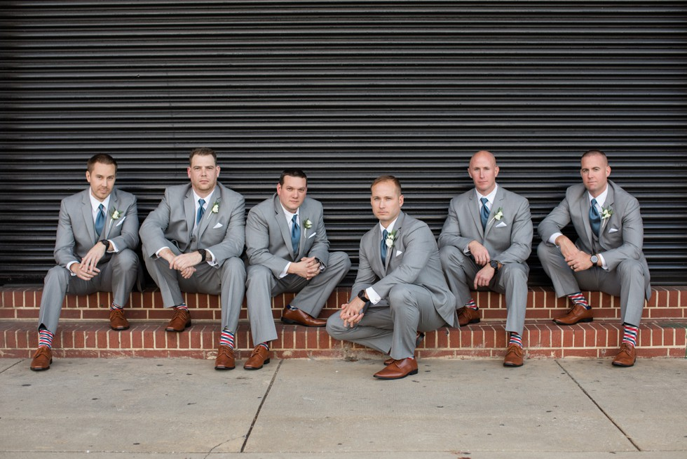 The Assembly Room wedding party photos
