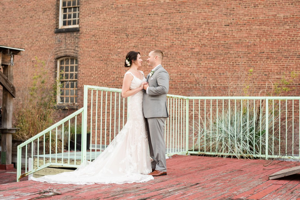 The Assembly Room baltimore wedding photos