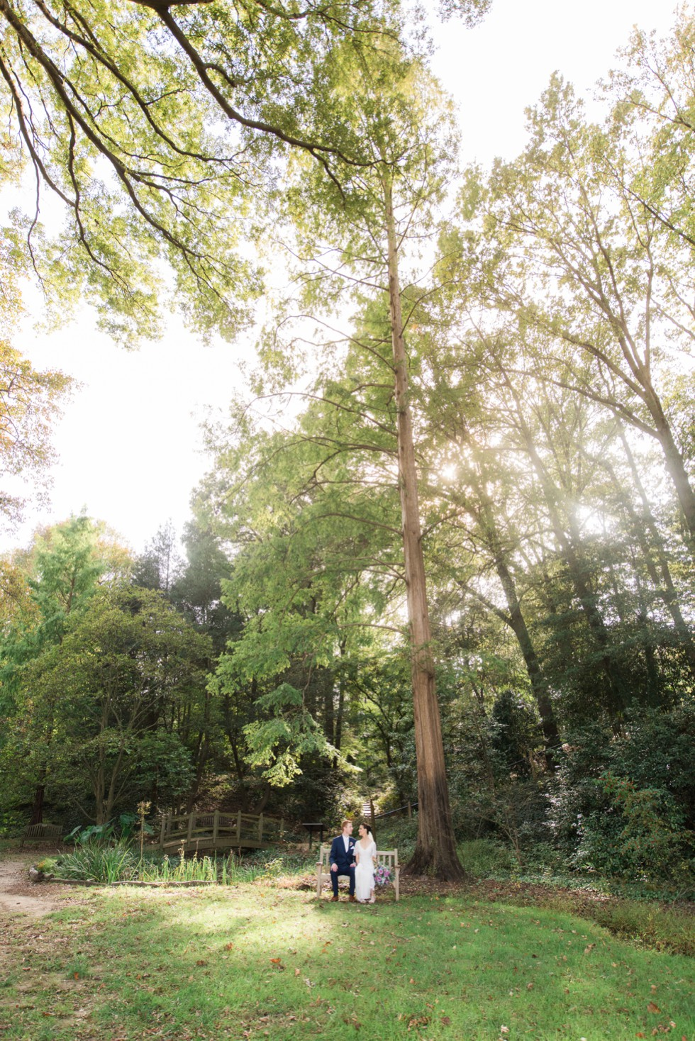 Annapolis wedding in the woods