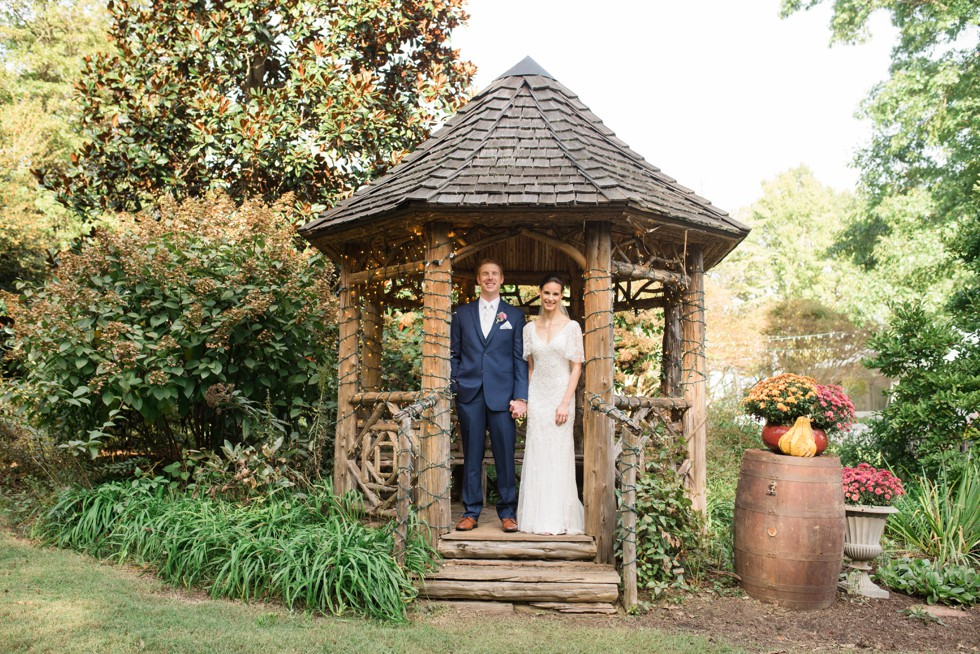 Charming Grace Events London Town Gardens wedding