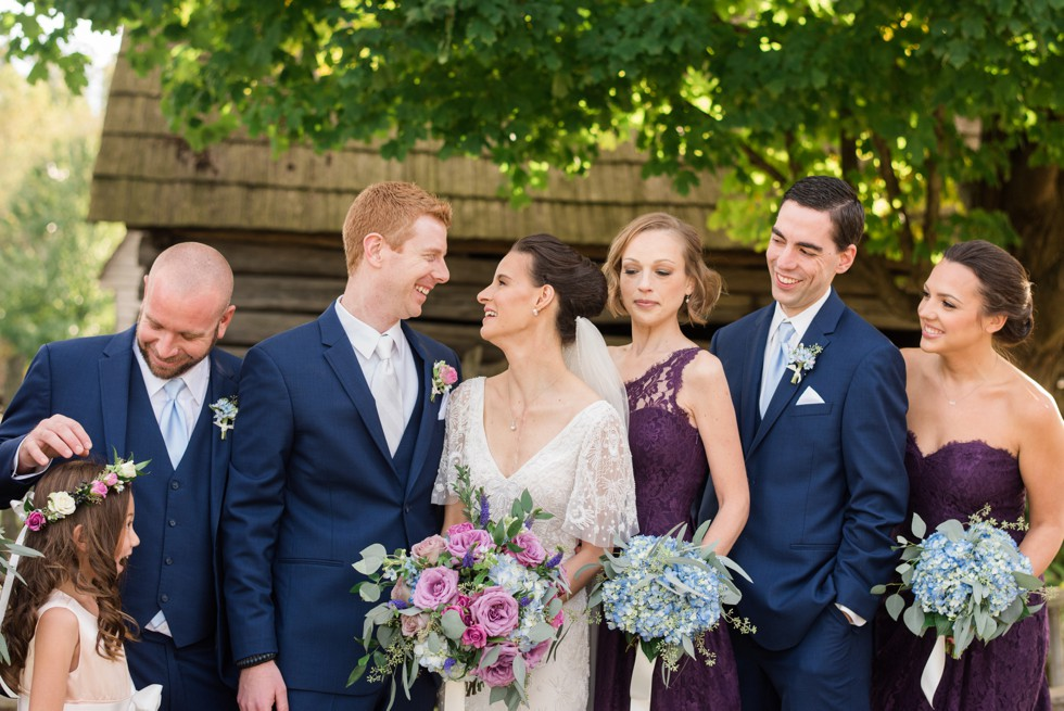 London Town Gardens Floret and Vine wedding