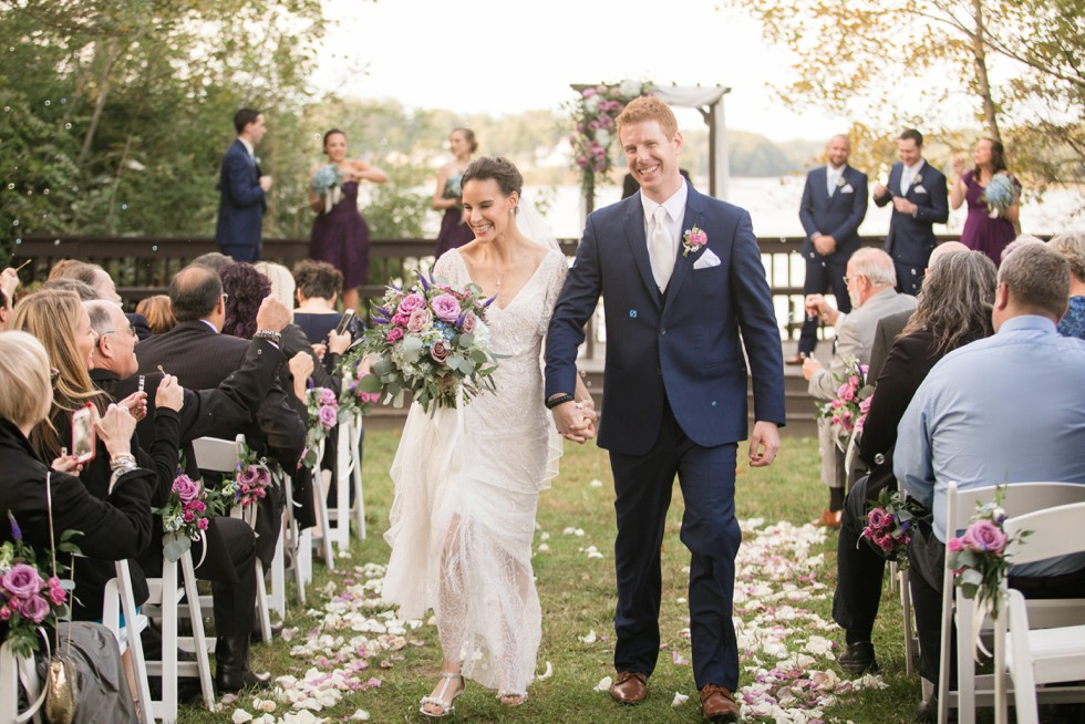 Historic London Town Gardens wedding Ceremony