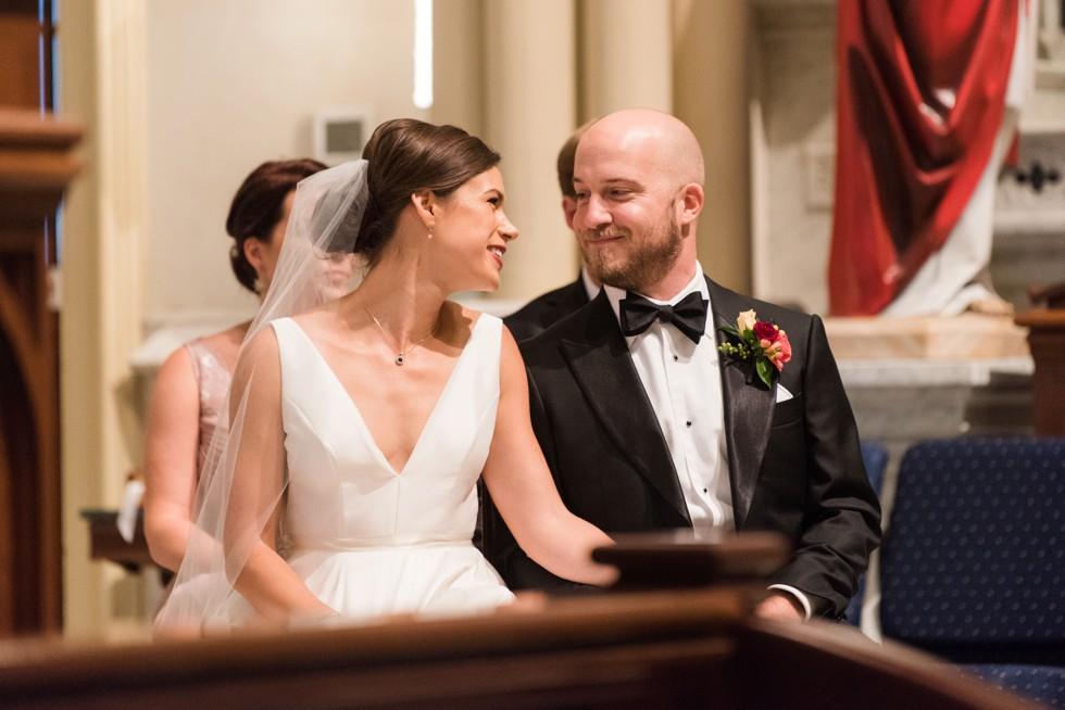 St Mary's Annapolis wedding ceremony