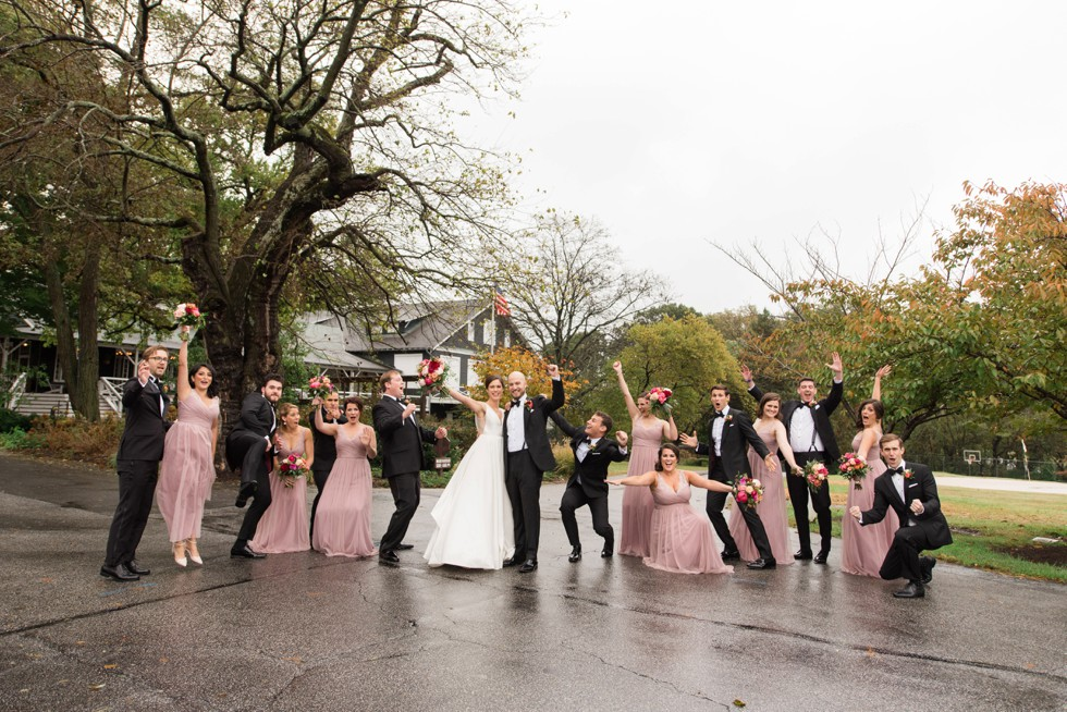 Sherwood Forest Clubhouse Wedding party photos