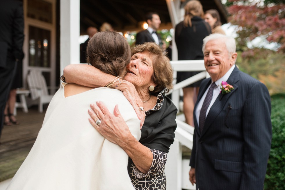 Sherwood Forest Clubhouse Wedding grandparent photo