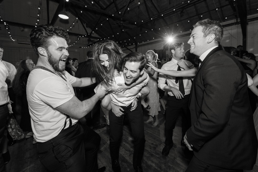 Annapolis wedding reception