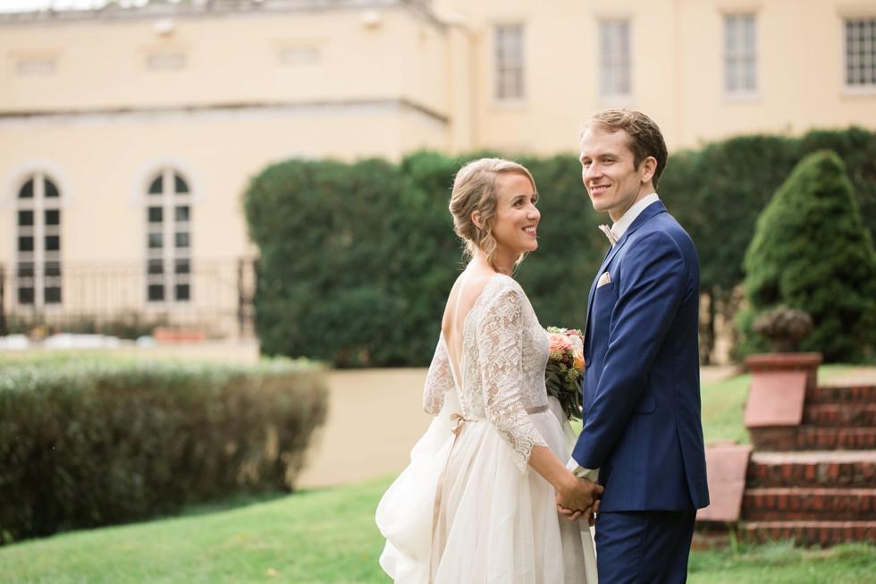 Evergreen Museum & Library wedding