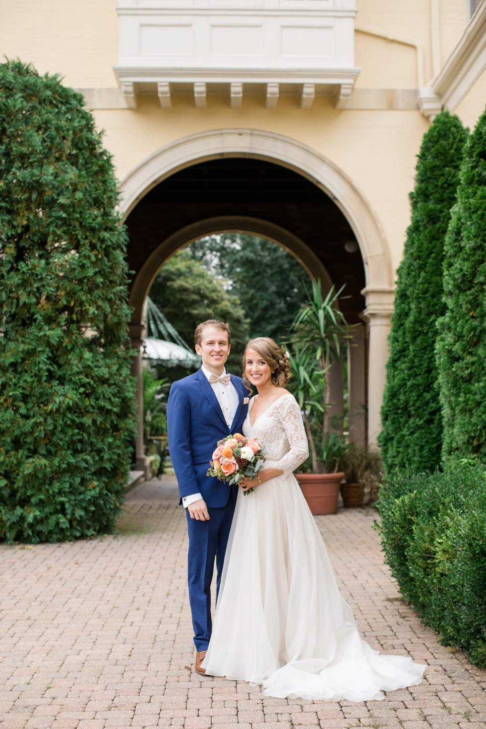 Evergreen Museum and Library wedding
