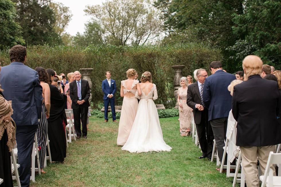 Evergreen Museum Baltimore wedding ceremony