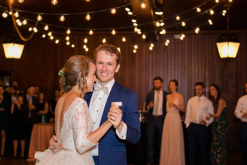 Evergreen Museum wedding reception dances