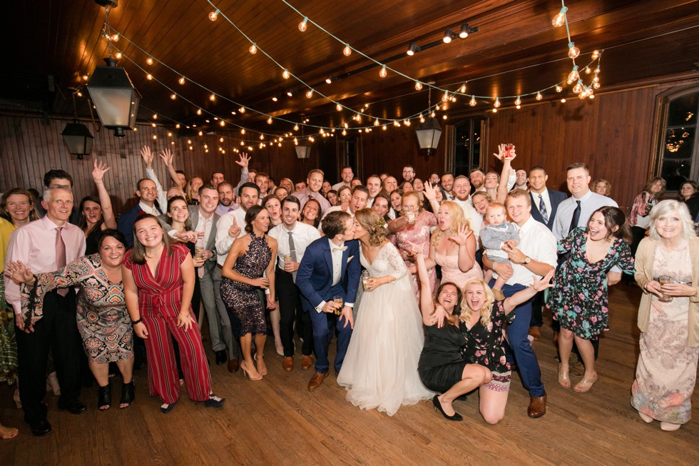 Evergreen Museum wedding reception
