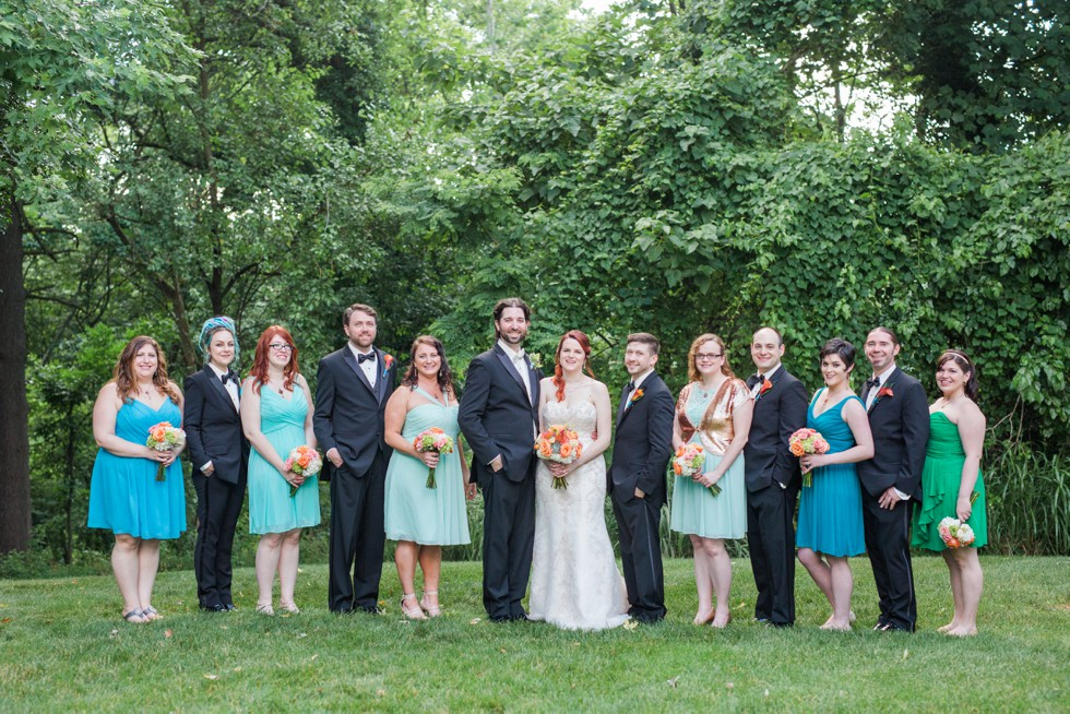 Catonsville wedding party at Overhills Mansion - Associate Photographer Anna