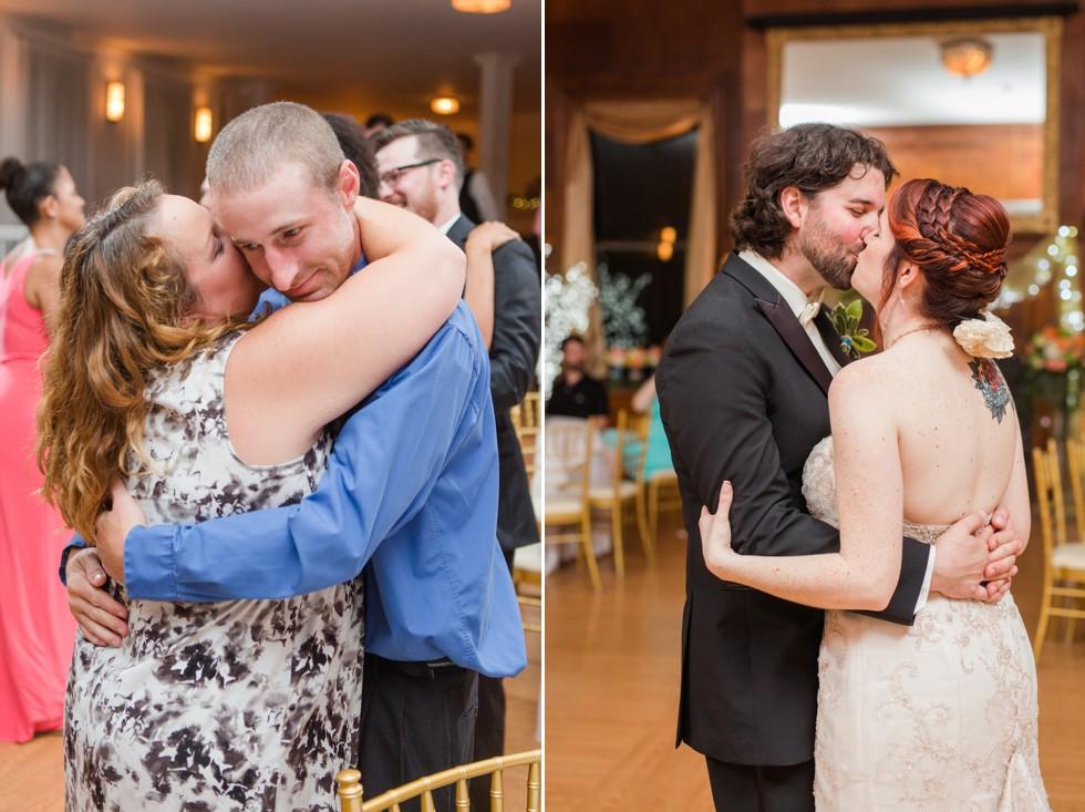 Overhills Mansion wedding reception dancing - Associate Anna
