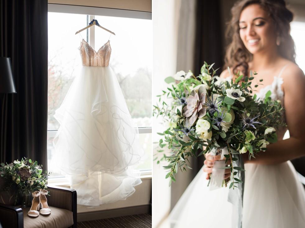 Annapolis wedding flowers Floret + Vine