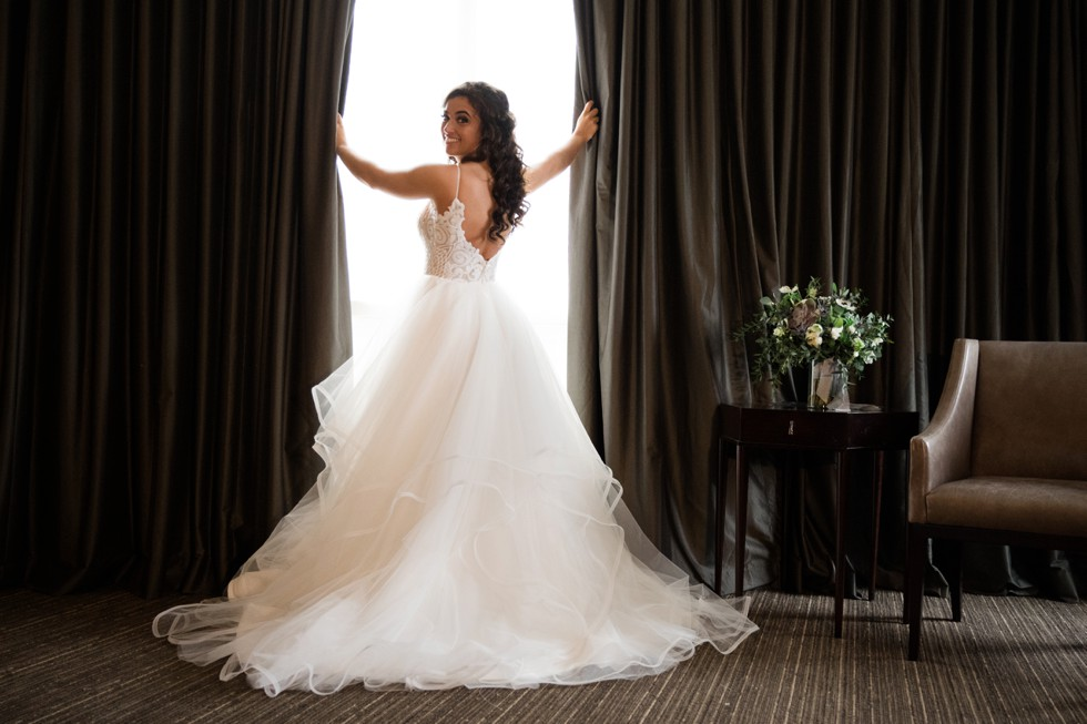 Hayley Paige bridal dress