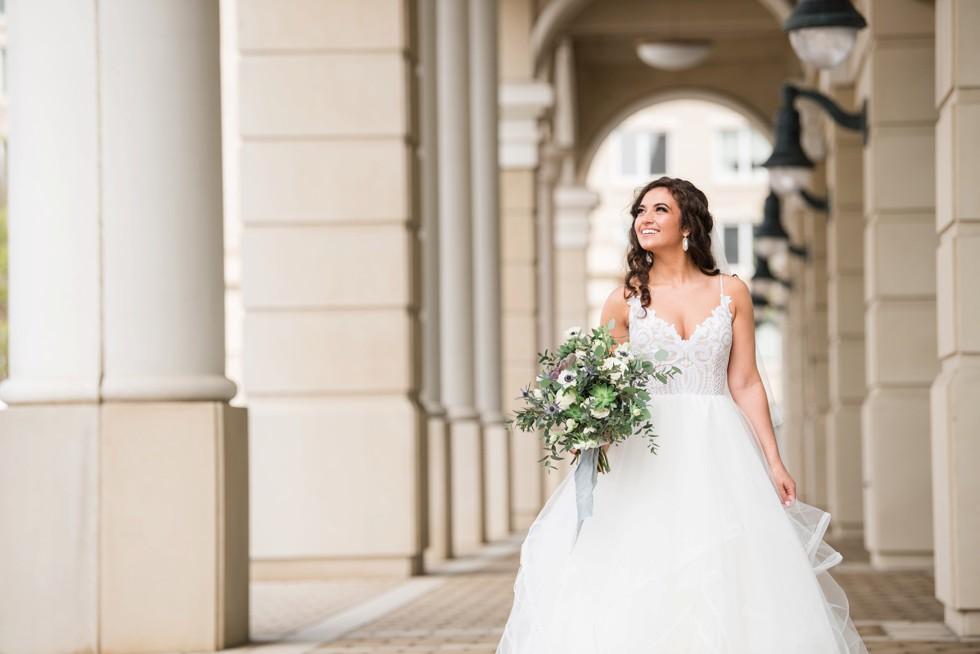Annapolis westin Hayley Paige bridal dress