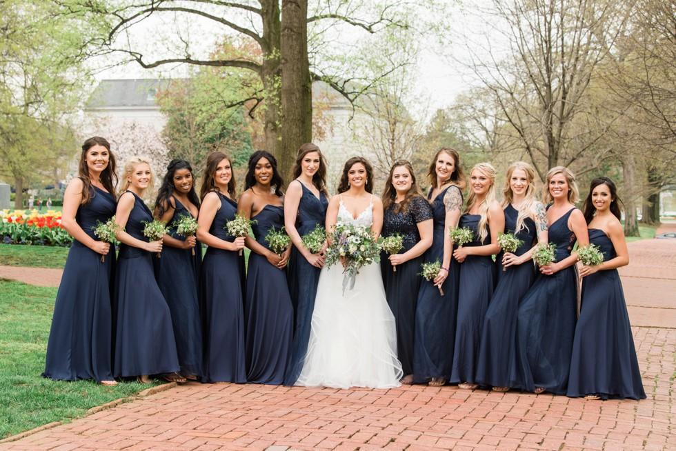 Annapolis wedding party photos