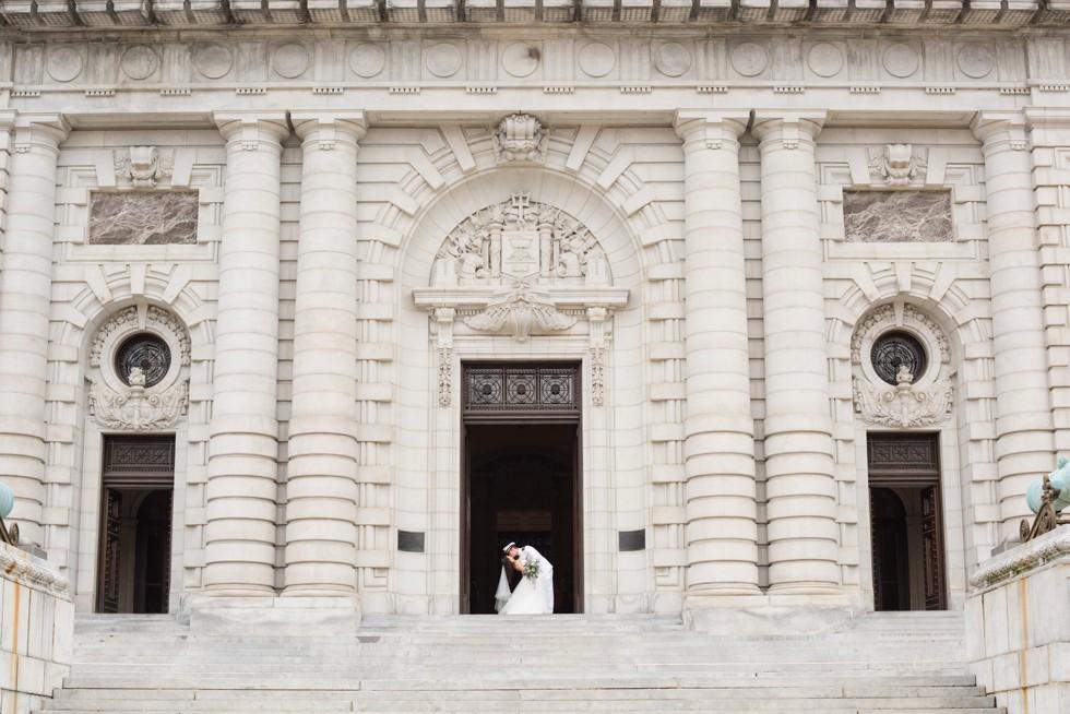 Bancroft Hall USNA wedding photographer
