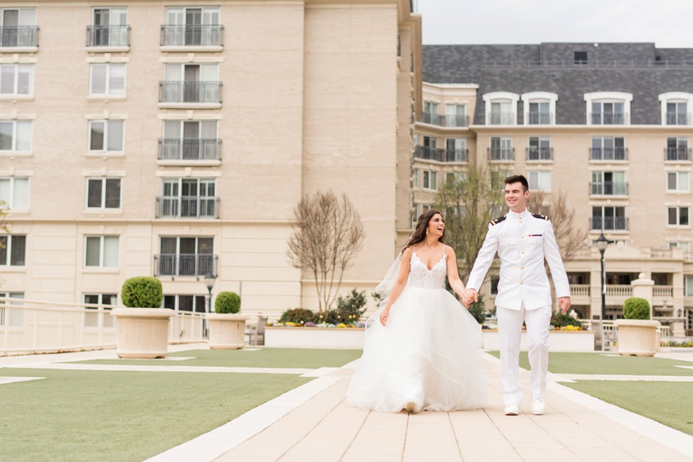 The Westin Annapolis wedding couple