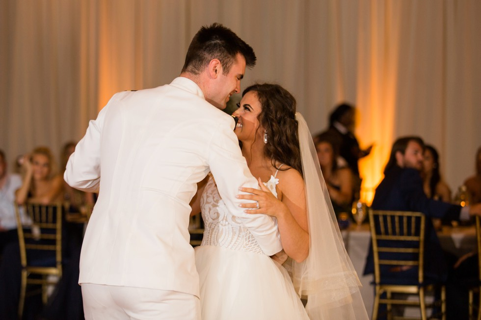 The Westin Annapolis wedding first dance