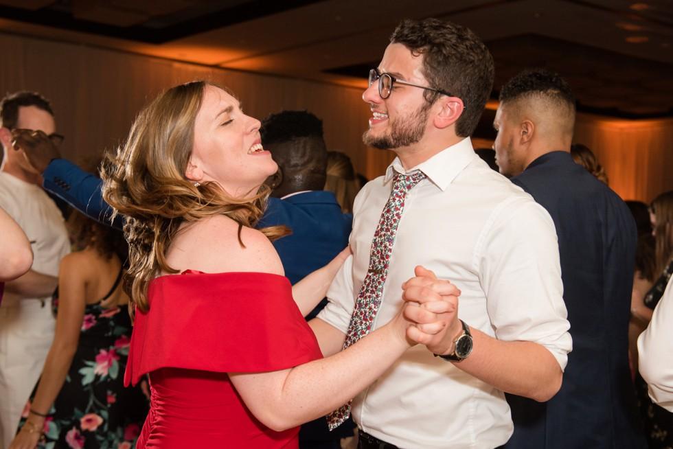 Westin Annapolis wedding reception dance party