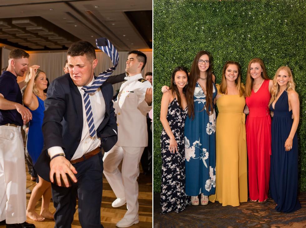 Westin Annapolis wedding reception portraits