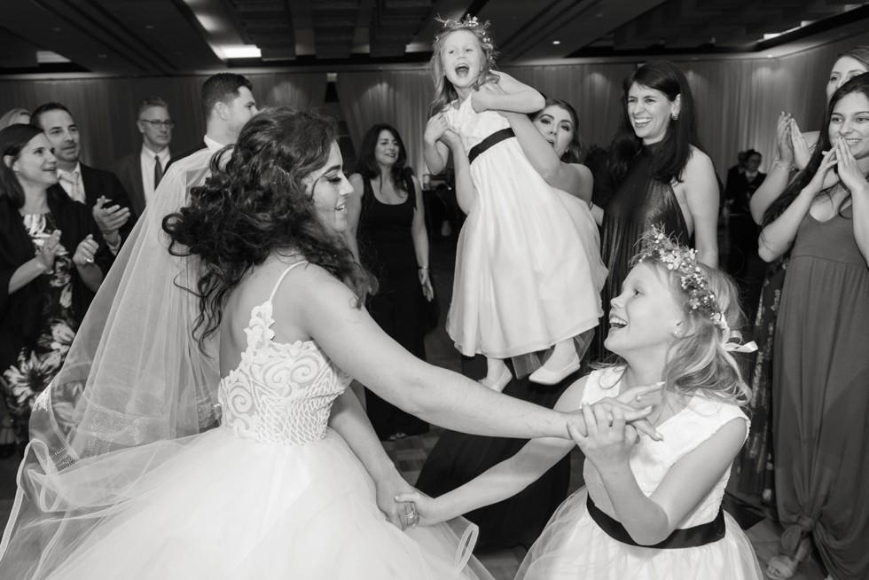 Westin Annapolis wedding reception dancing