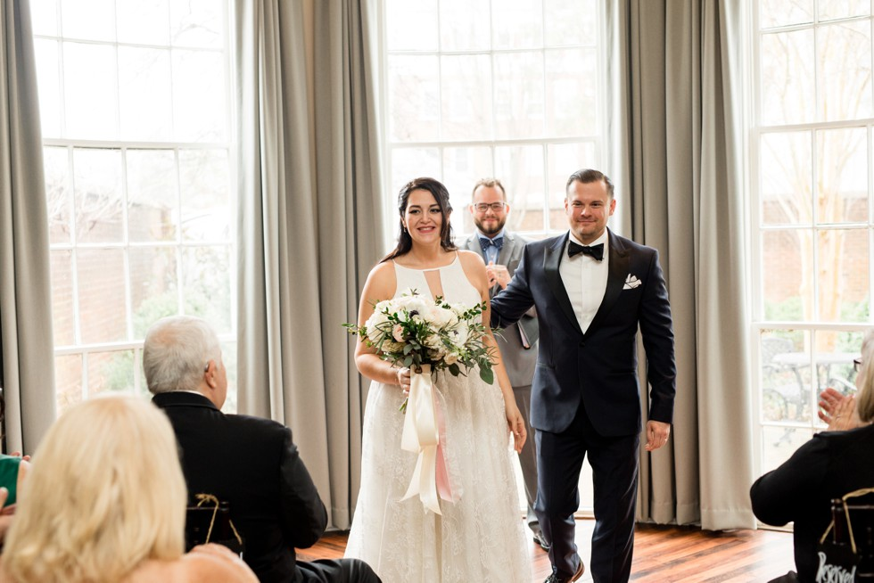 The Tidewater Inn Baltimore wedding ceremony