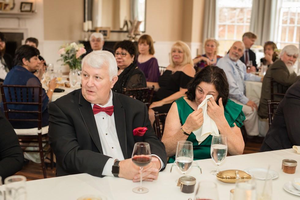 The Tidewater Inn Baltimore wedding reception