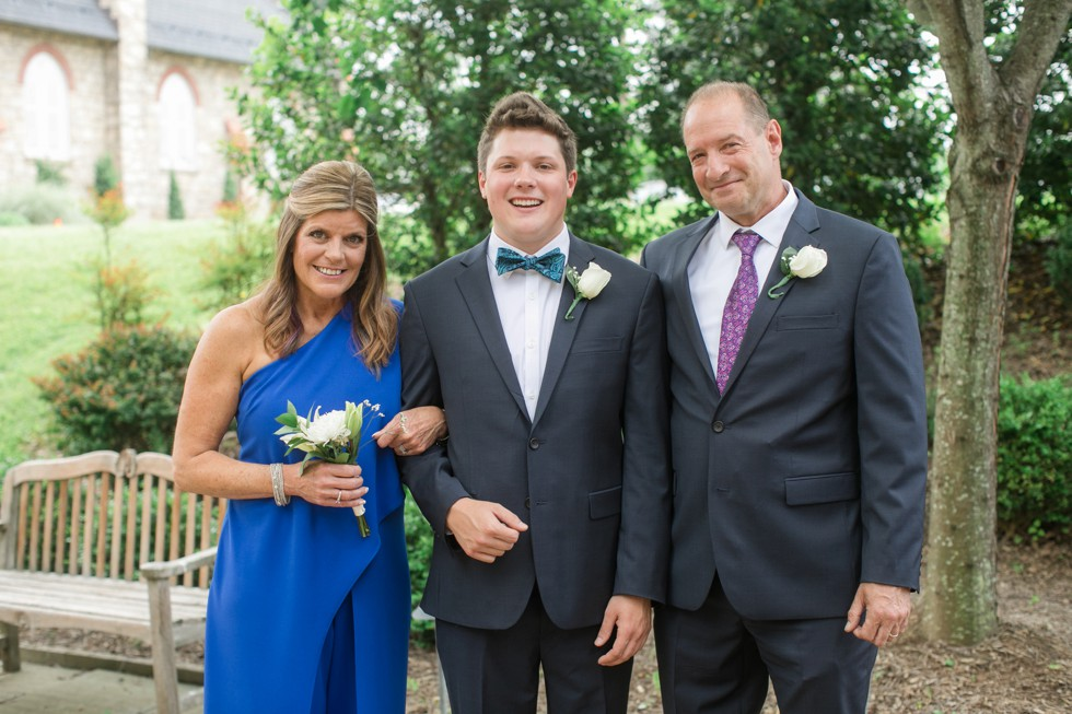 Family photos at St. Louis Catholic Church