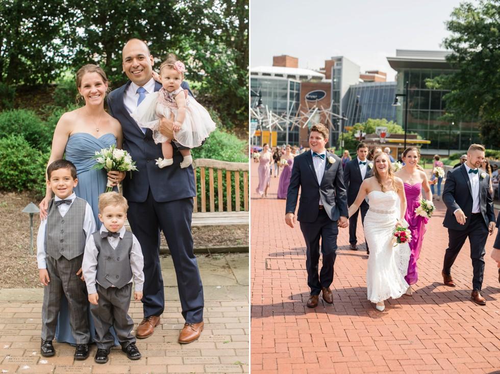 Baltimore Wedding party