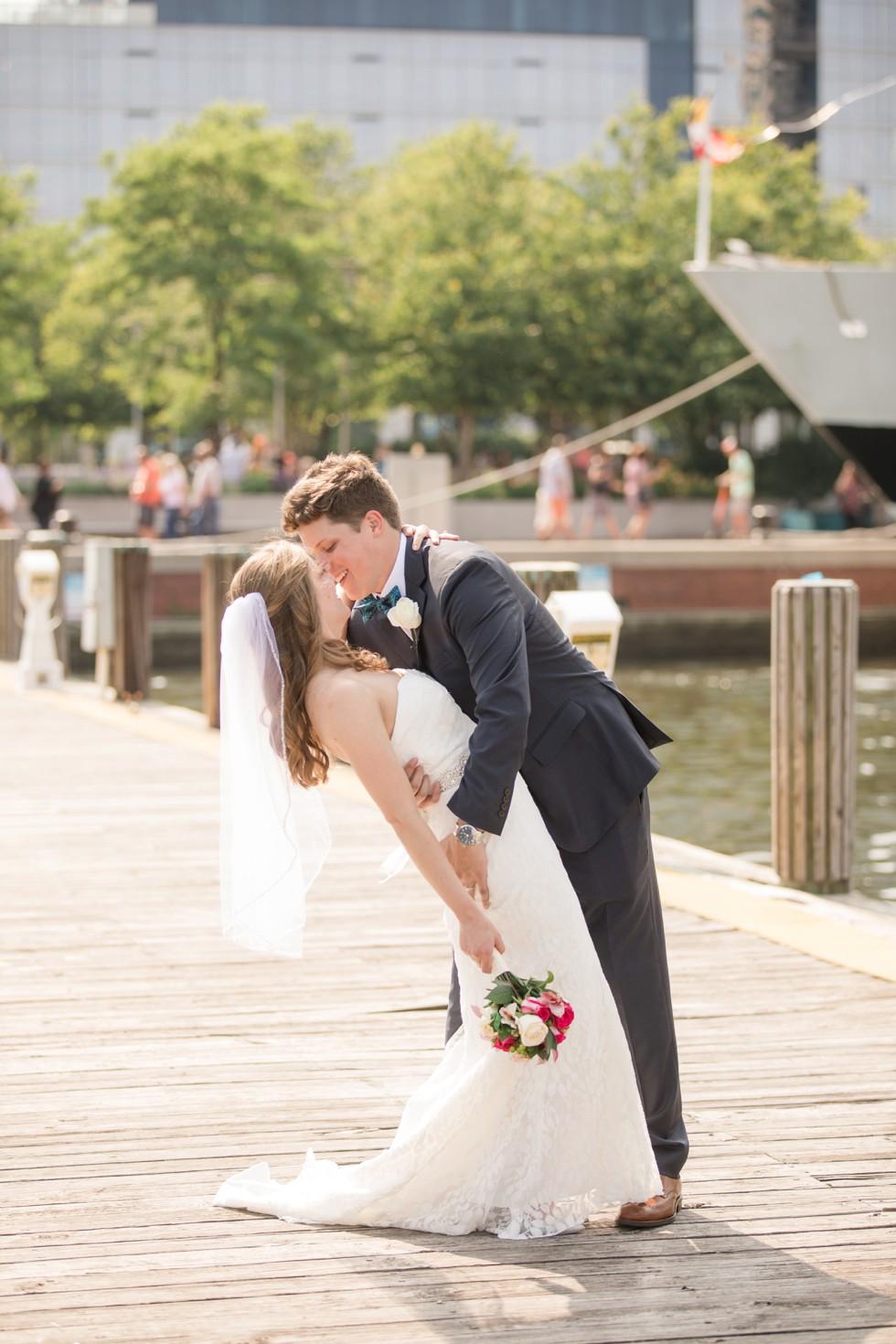 Royal Sonesta Baltimore wedding couple