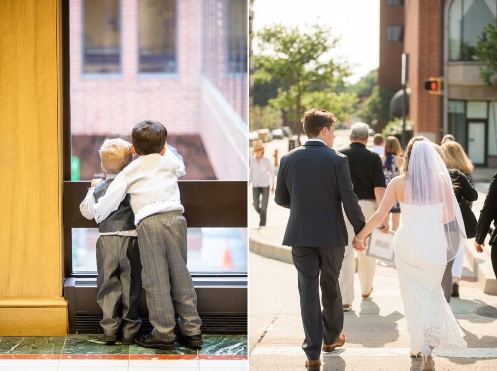 Wedding in Baltimore at Royal Sonesta