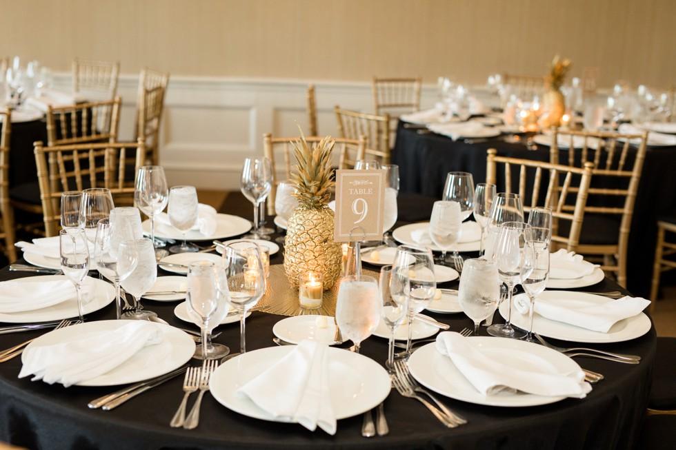 Wedding reception in Baltimore at Royal Sonesta