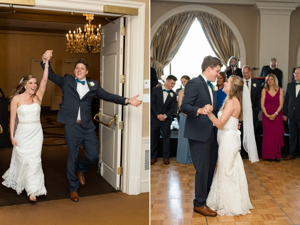 Royal Sonesta Harbor Court Baltimore wedding reception