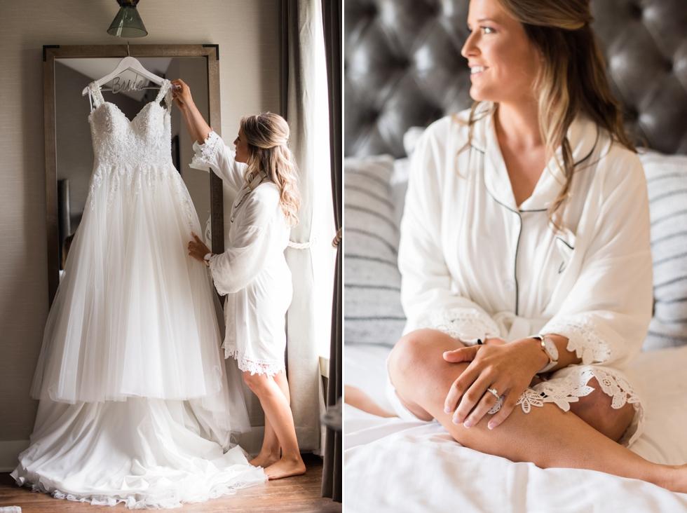 Bridals by Elena wedding dress at Chesapeake Bay Beach Club