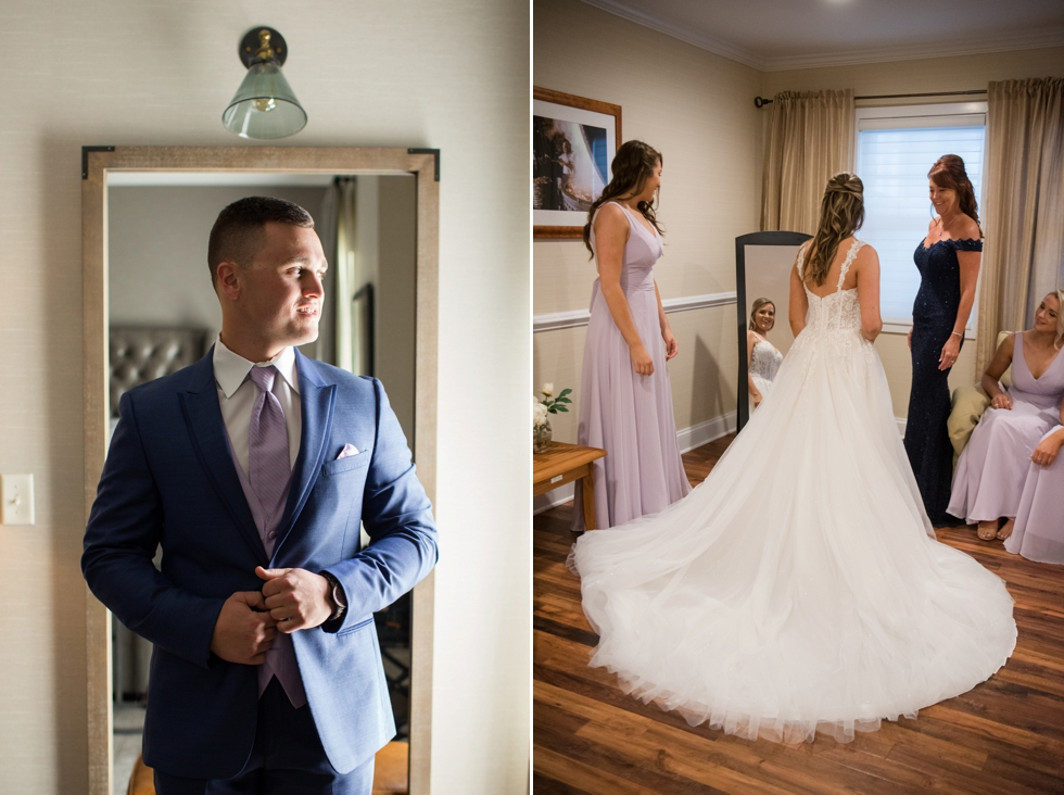 Bridals by Elena wedding dress at Chesapeake Bay Beach Club