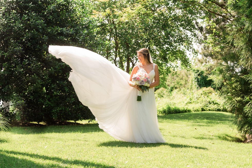 Chesapeake Bay Beach Club Sunset ballroom bridal portraits
