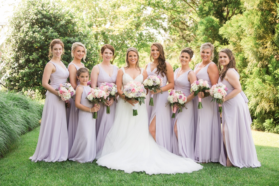 Chesapeake Bay Beach Club Sunset ballroom bridesmaid photos