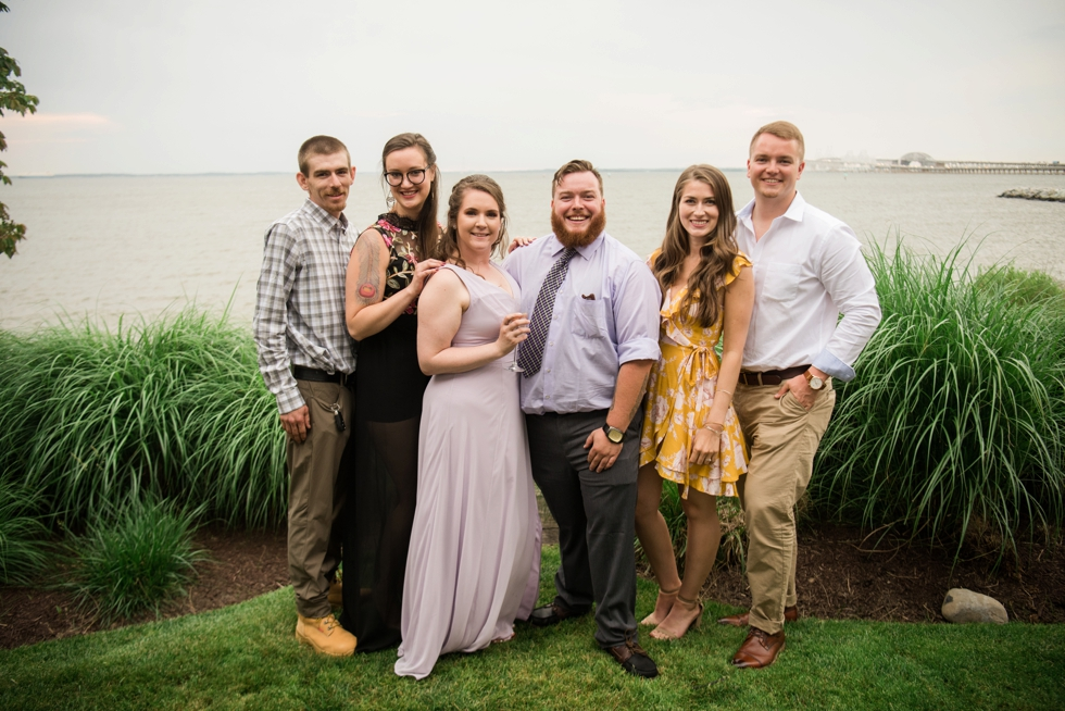 Chesapeake Bay wedding guests