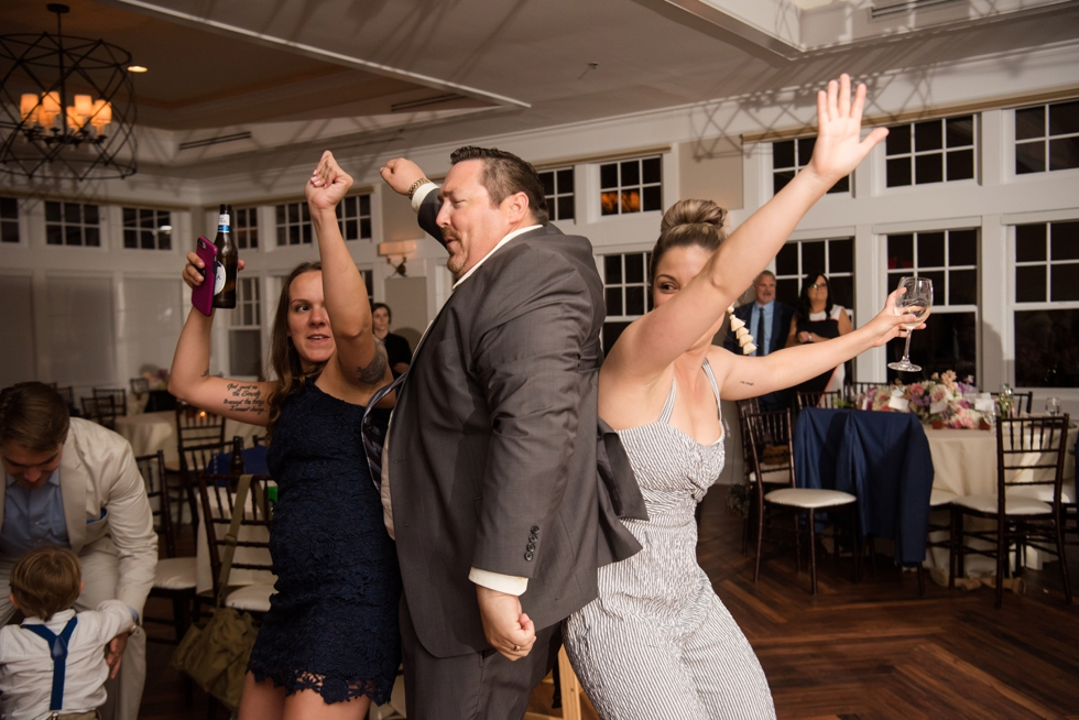 Chesapeake Bay Beach Club Sunset ballroom wedding reception dance party