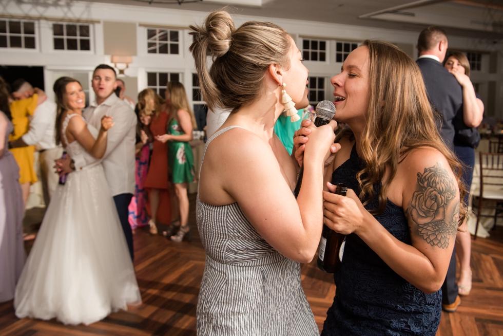 Chesapeake Bay Beach Club Sunset ballroom wedding reception dance party