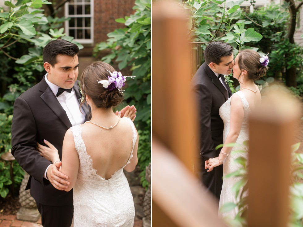 Intimate wedding at Annapolis Inn