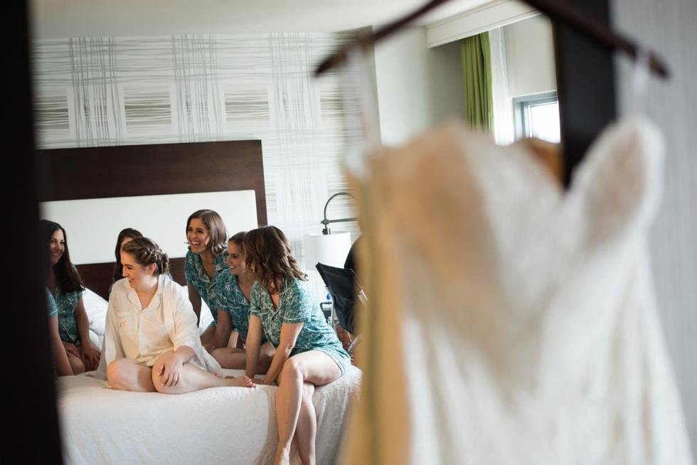 Hampton Inn & Suites Washington DC bridal suite